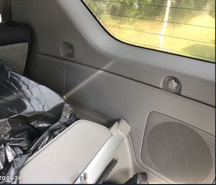 After SERVPRO of South Fleming Island remediate / mitigates mold in a car!